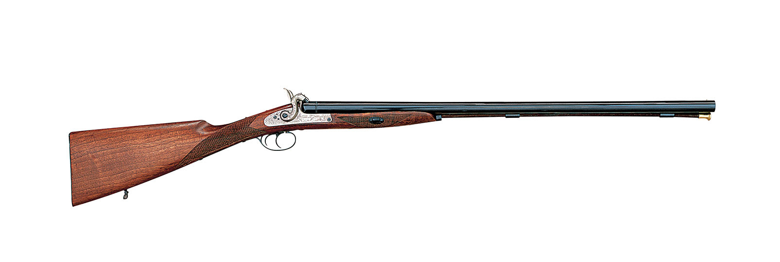 Muzzle loading side by side shotguns