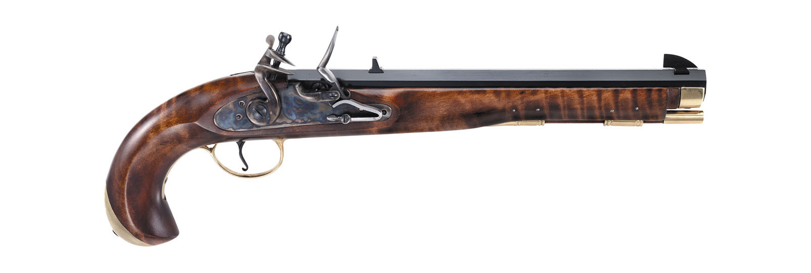 Pistola Navy Moll a pietra focaia
