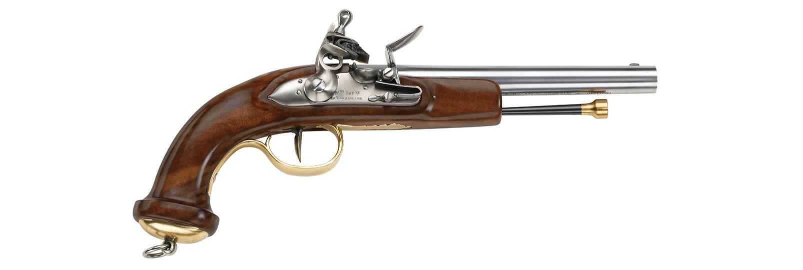 Pistola Mamelouk a pietra focaia