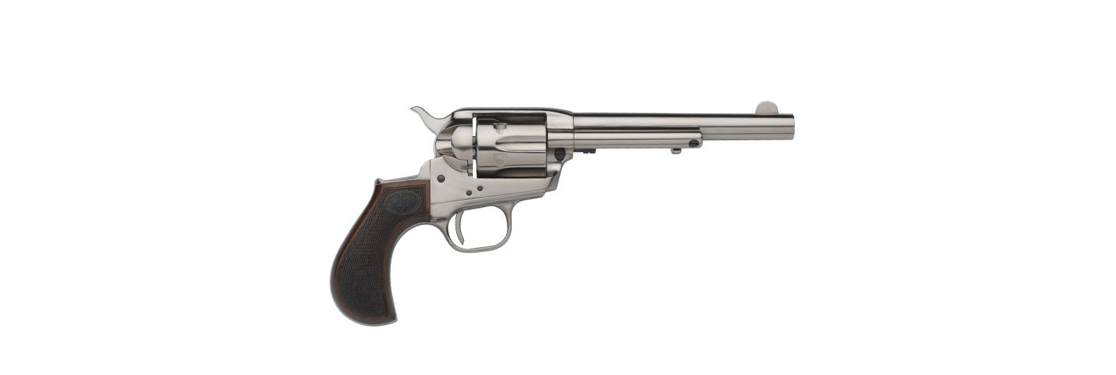 "Doc Holliday Revolver nickel 4,2"""