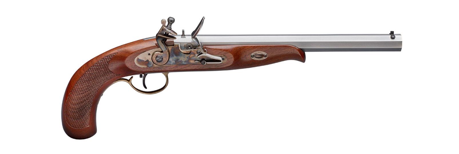 Continental Target Pistol flintlock model